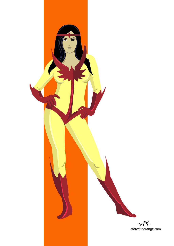 Firebird (Marvel) by FeydRautha81 on DeviantArt