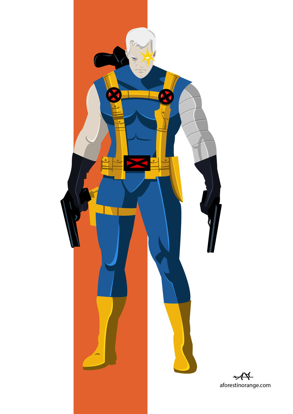 Cable (Marvel) by FeydRautha81