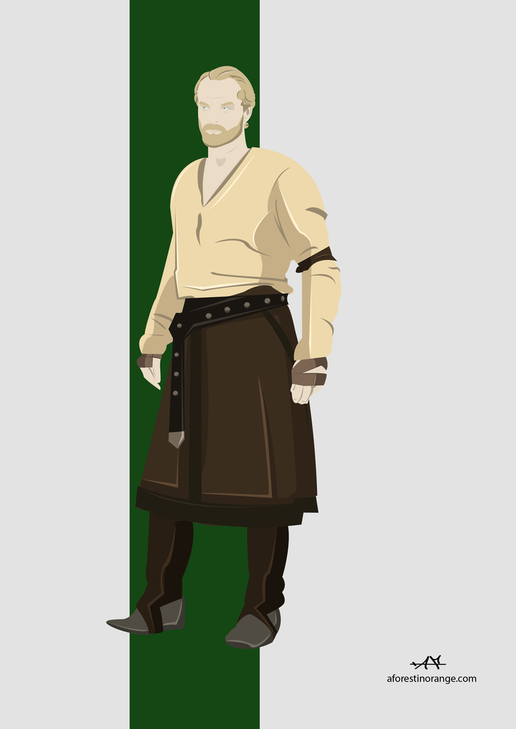 Jorah Mormont (GoT) by FeydRautha81