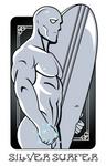 Silver Surfer by FeydRautha81