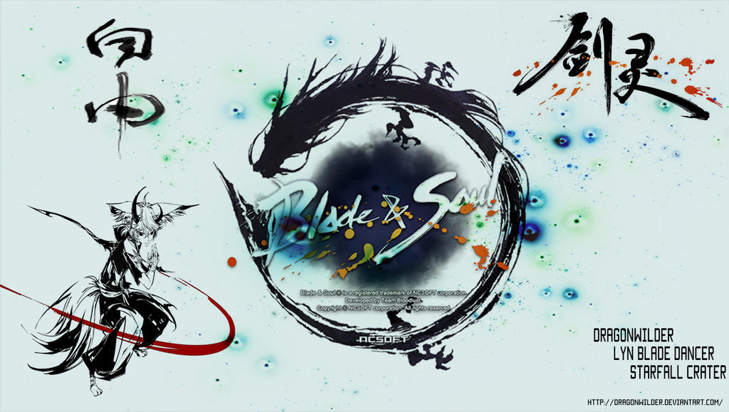 Blade And Soul Wallpaper By Dragonwilder On Deviantart