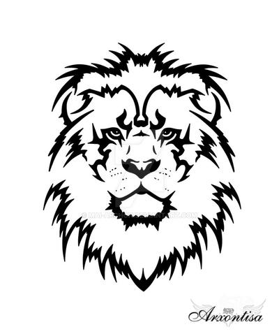 Lion tattoo by Mai-Archon