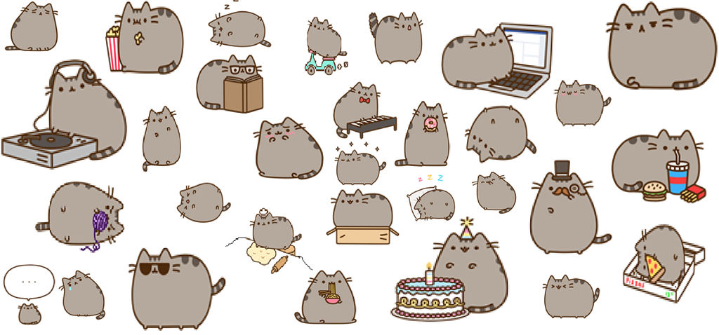 Pusheen Wallpaper by Lola015 ...