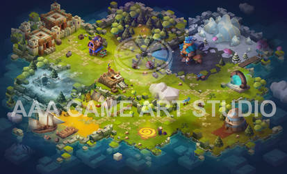Casual Mobile Art-04-aaa-game-art-studio-casual-mo by AAAGameArtStudio