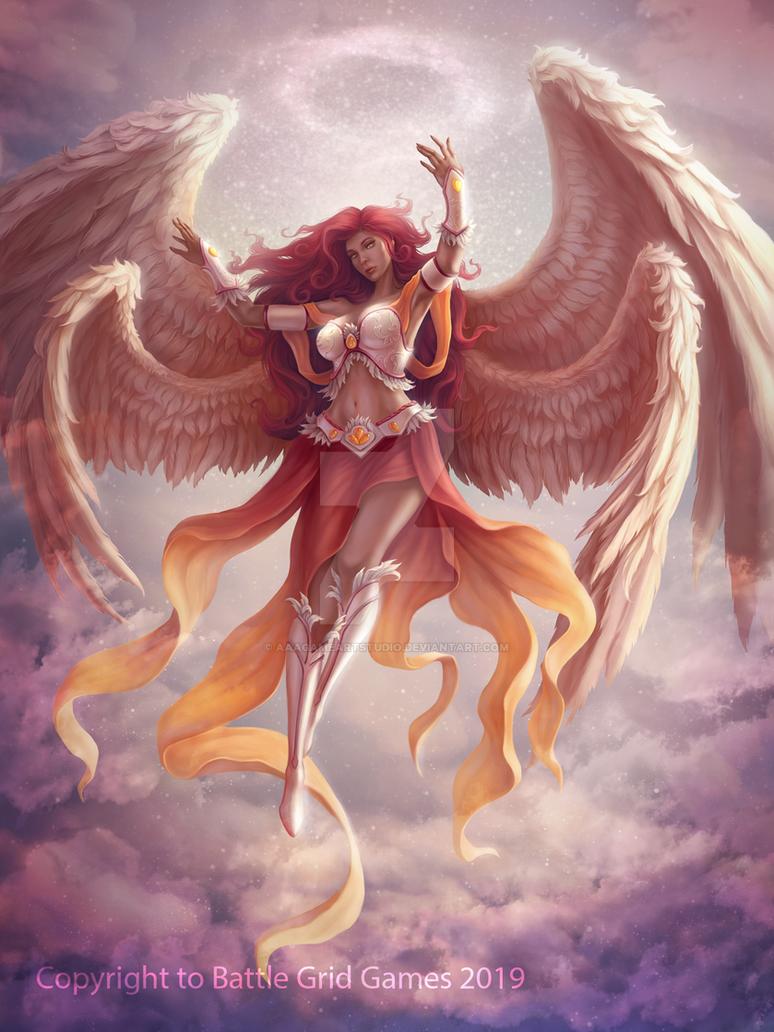 Unbreakable-Archangel by AAAGameArtStudio