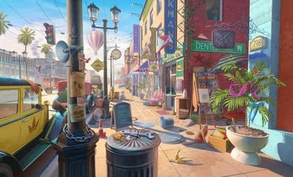Florida street 1920th