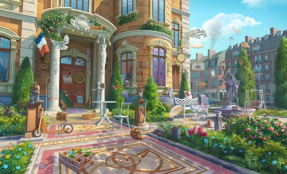 Most beautiful corners of the world, hidden object
