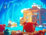 Winter environment, 2d game art