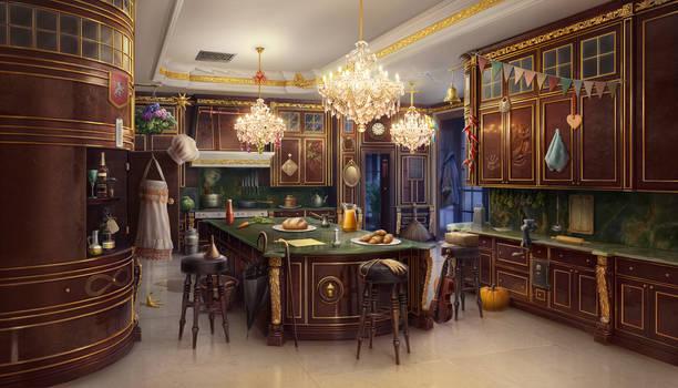 The Hayes Kitchen, 2D art, hidden objects