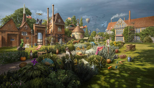 The Hayes Garden, made for June's Journey by Wooga