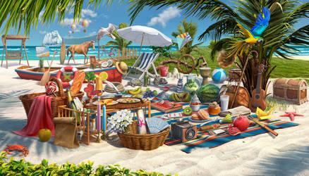 Boca Ciega Beach for Junes Journey