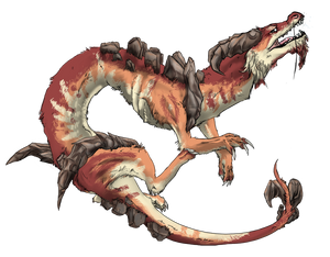 Spine Covered Dragon