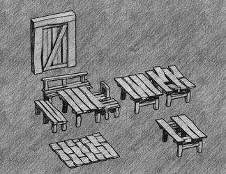 furniture sketch by cruizRF