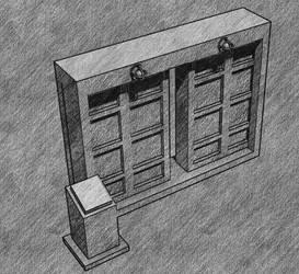 Door sketch by cruizRF