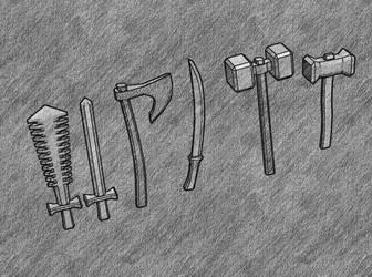 weapon sketch by cruizRF