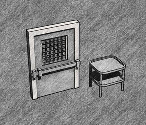 Door + stock sketch by cruizRF