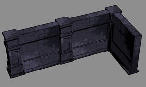 sketch modular wall