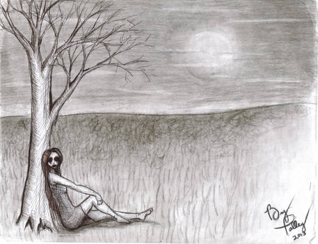 Creepy Poe-esque Illustration