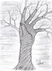 Hand Tree by pyro-pyscho
