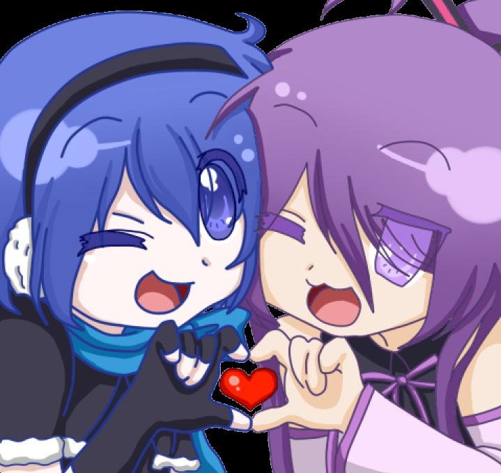 Lucky Star Hiragana: .:Kaiko And Gakuko:. By Shion-Kaiko On DeviantArt