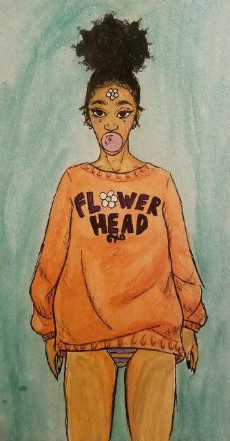 Flower Head by AniAli