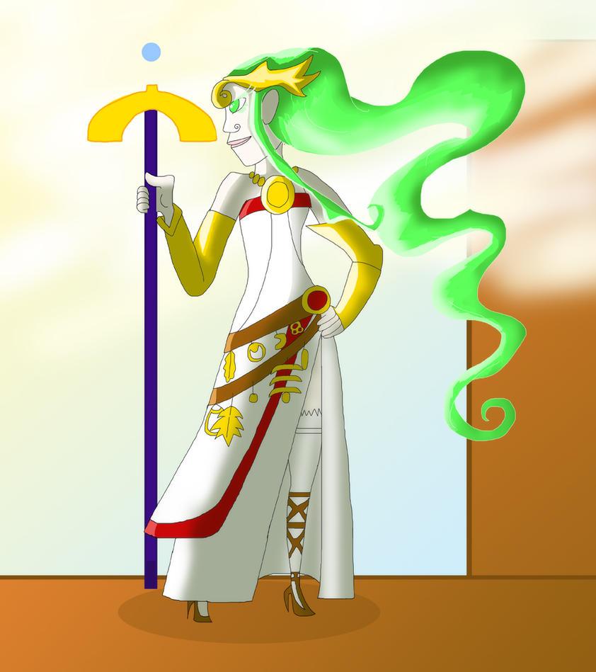 Lady Palutena by ratscout