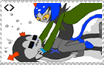 Pouncegreet Tackleslide Stamp by tombstone
