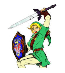 Link by Jubran(colored) by hotwar696