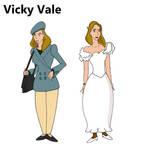 Vicky Vale Bruce Timm style