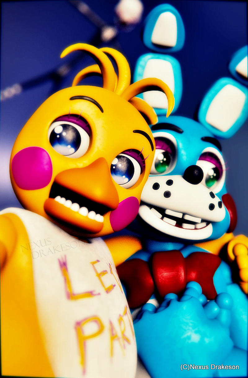 Request toy chica and toy bonnie by nexusdrakeson on deviantart