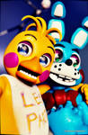 REQUEST: Toy Chica and Toy Bonnie