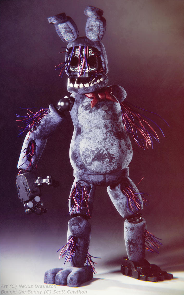Withered Bonnie V4 by NexusDrakeson