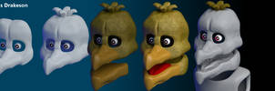 Making of Withered Chica