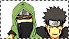 ShinoKiba ~ stamp by mrtvejpes
