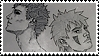 ShinoKiba ~ stamp by mrtvejpes