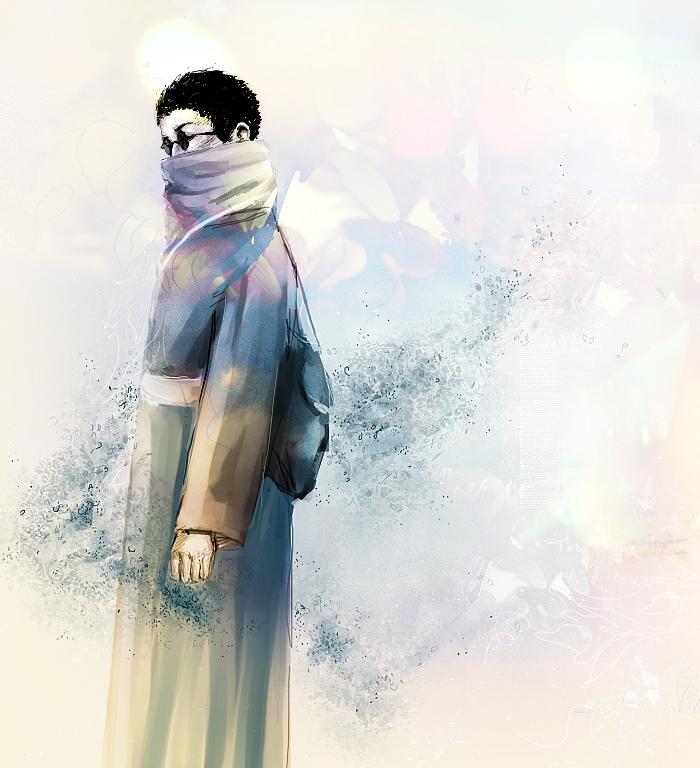 Aburame Shino ~ colour sketch by mrtvejpes