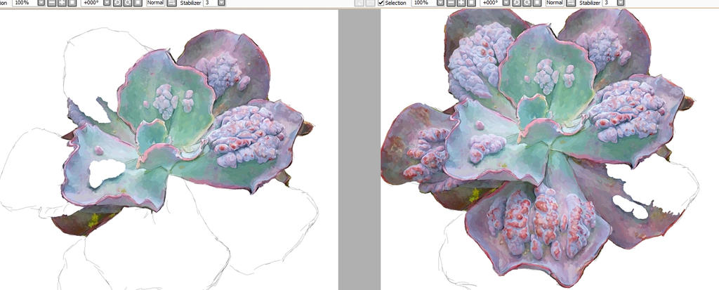 Infected Flower ~ WIP by mrtvejpes