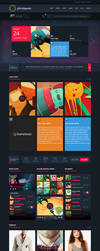 Pure Magazine: News/Blog/Shop HTML5/CSS3 Theme by gohawise
