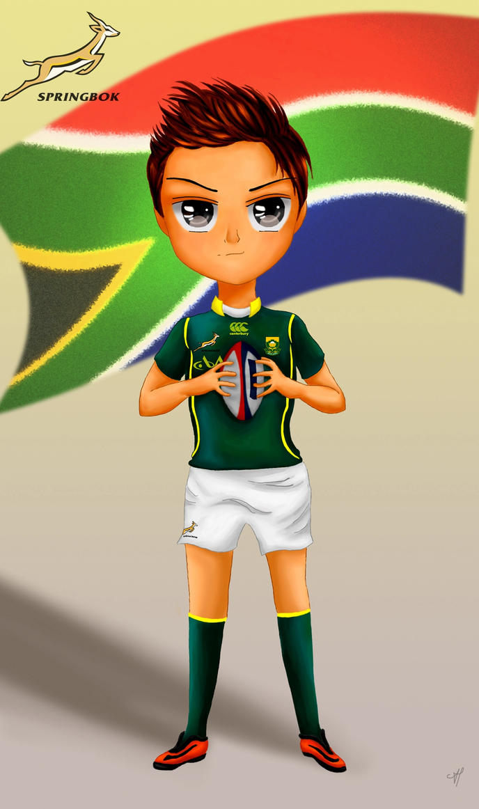 Chibi Rugby Player by NightSMars