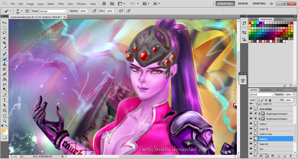 Widowmaker (preview) by Avistic