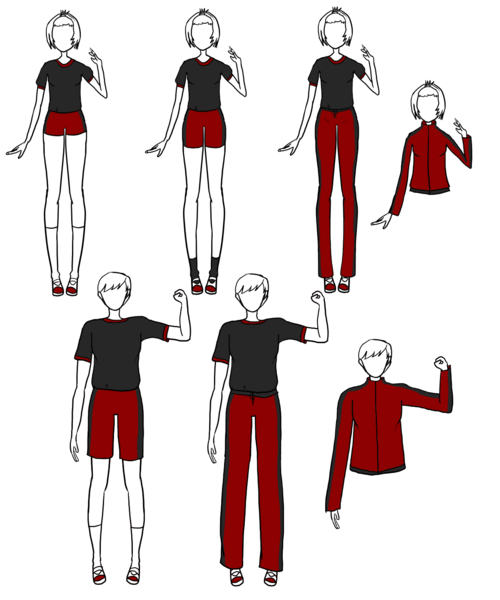 DMA: Gym Uniforms by The-OneChanbara