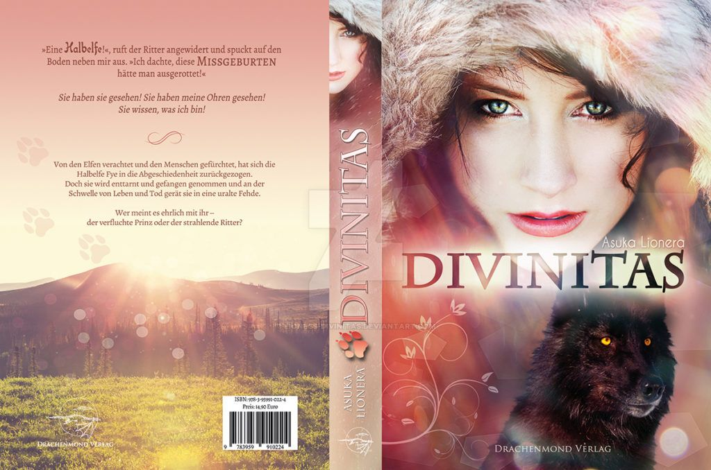 Book Cover Divinitas by lioness-divinitas