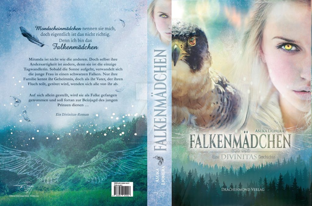 Book Cover Falkenmaedchen by lioness-divinitas