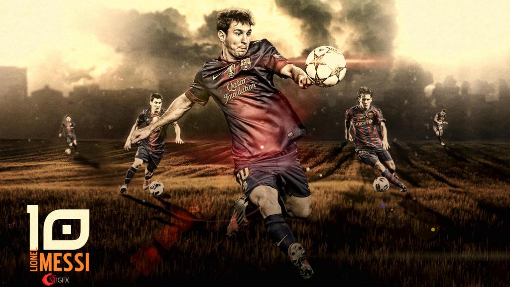 Lionel Messi Wallpaper by nirmalyabasu5 on DeviantArt