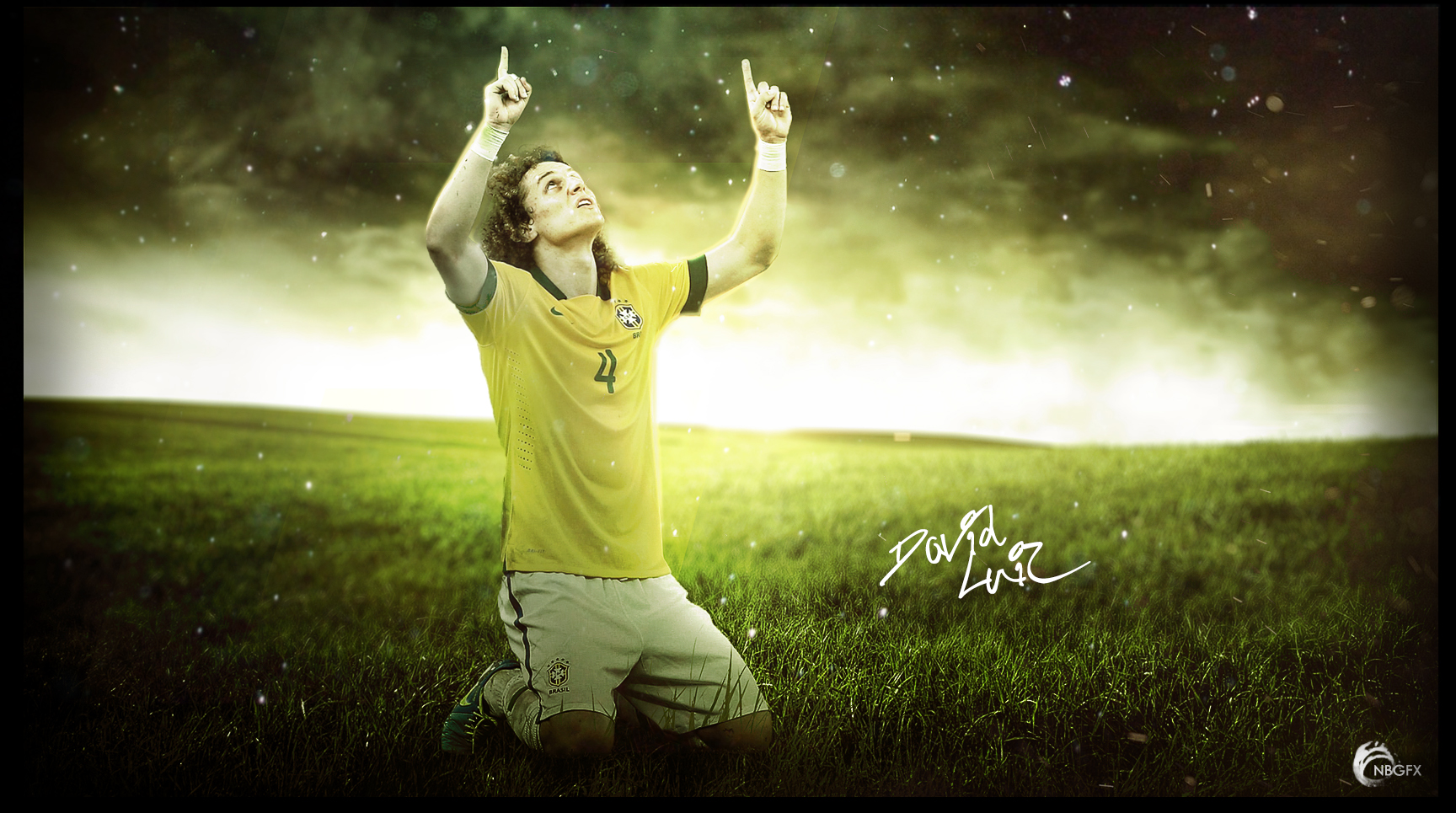 David Luiz Wallpaper By Nirmalyabasu5 On DeviantArt