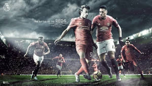 Manchester United vs Liverpool :Matchday Wallpaper