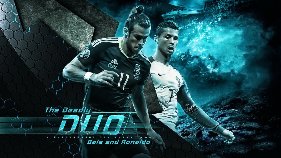 Bale-Ronaldo - The Deadly Duo by nirmalyabasu5