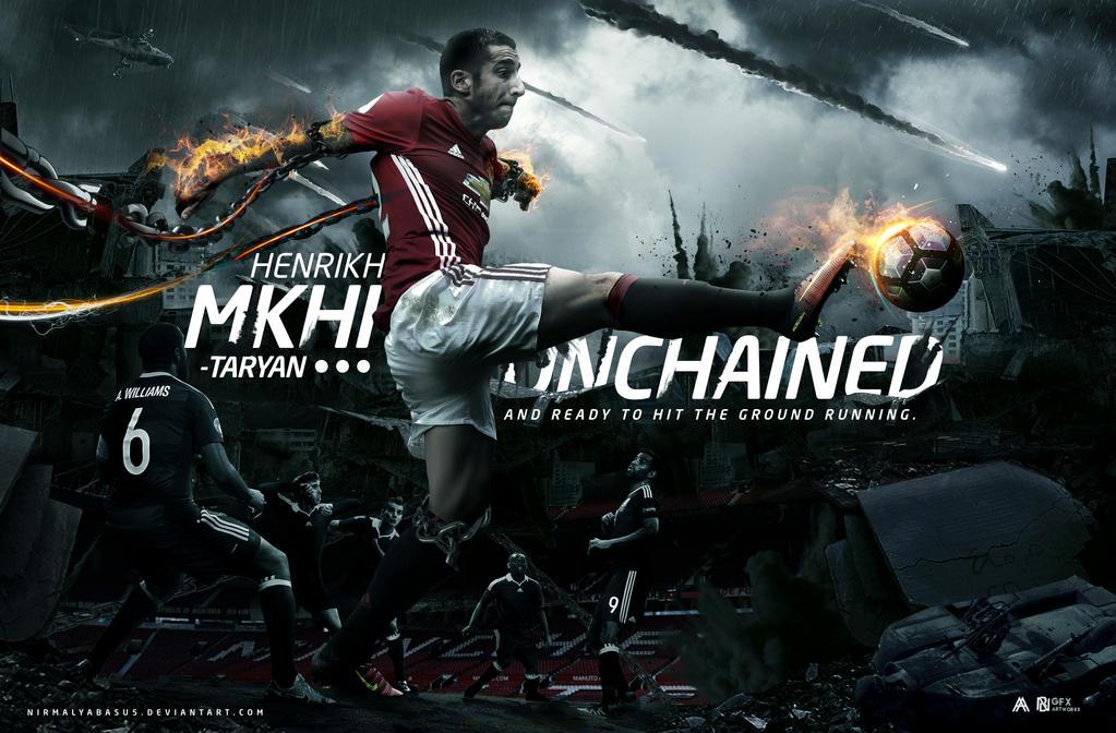 Henrikh Mkhitaryan Manipulation feat. @albertgfx by nirmalyabasu5