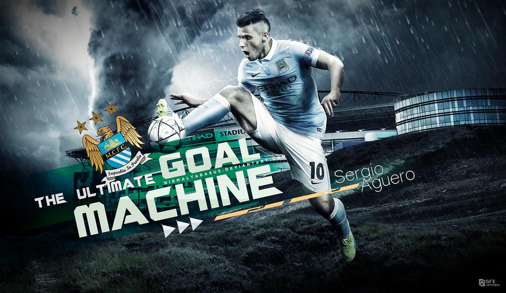 Sergio Aguero : The goal machine by nirmalyabasu5