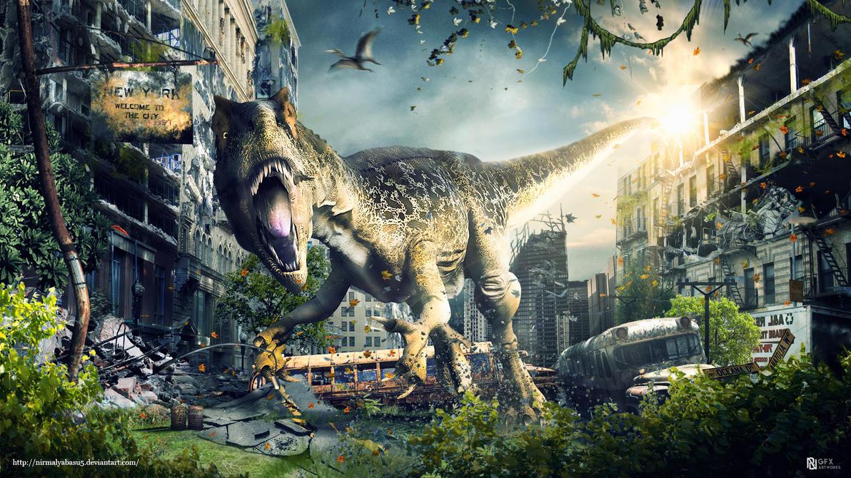 The return of dinosaurs by nirmalyabasu5